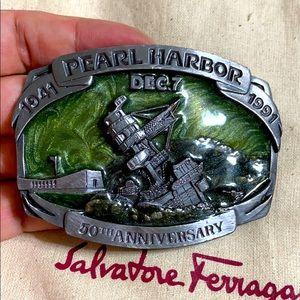 🖤50th anniversary Pearl Harbor belt buckle